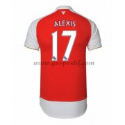 maillot de foot Premier League Arsenal 2016-17 Alexis 17 maillot domicile..