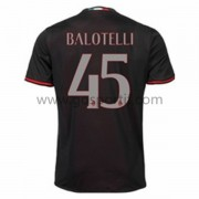 maillot de foot Series A AC Milan 2016-17 Balotelli 45 maillot domicile..