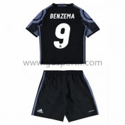 Real Madrid maillot de foot enfant 2016-17 Benzema 9 maillot third..