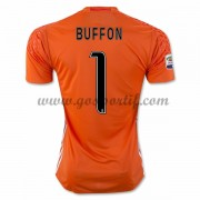 maillot de foot Series A Juventus 2016-17 Buffon 1 gardien de but maillot domicile..