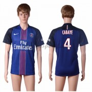 maillot de foot Ligue 1 Paris Saint Germain Psg 2016-17 Cabaye 4 maillot domicile..