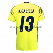 maillot de foot La Liga Real Madrid 2016-17 Casilla gardien de but maillot extérieur..