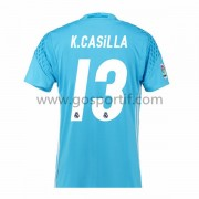 maillot de foot La Liga Real Madrid 2016-17 Casilla gardien de but maillot domicile..