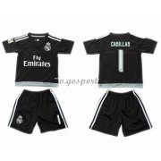 Real Madrid maillot de foot enfant 2016-17 Casillas 1 gardien de but maillot domicile