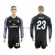 maillot de foot La Liga Real Madrid 2016-17 Danilo 23 maillot third manche longue..