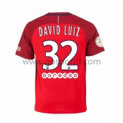maillot de foot Ligue 1 Paris Saint Germain Psg 2016-17 David Luiz 32 maillot extérieur..