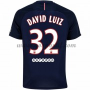 maillot de foot Ligue 1 Paris Saint Germain Psg 2016-17 David Luiz 32 maillot domicile..