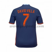 maillot de foot Clubs New York City 2016-17 David Villa 7 maillot extérieur..