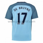 maillot de foot Premier League Manchester City 2016-17 De Bruyne 17 maillot domicile..