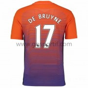 maillot de foot Premier League Manchester City 2016-17 De Bruyne 17 maillot third..