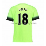 maillot de foot Premier League Manchester City 2016-17 Delph 18 maillot third..
