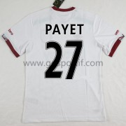 maillot de foot Premier League West Ham United 2016-17 Dimitri Payet 27 maillot extérieur