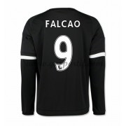 maillot de foot Premier League Chelsea 2016-17 Falcao 9 maillot third manche longue..