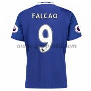 maillot de foot Premier League Chelsea 2016-17 Falcao 9 maillot domicile..