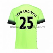 maillot de foot Premier League Manchester City 2016-17 Fernandinho 25 maillot third..