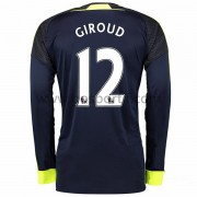 maillot de foot Premier League Arsenal 2016-17 Giroud 12 maillot third manche longue..