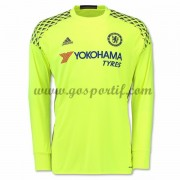 maillot de foot Premier League Chelsea 2016-17 gardien de but maillot domicile manche longue..