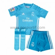 Real Madrid maillot de foot enfant 2016-17 gardien de but maillot domicile..