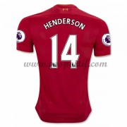 maillot de foot Premier League Liverpool 2016-17 Henderson 14 maillot domicile..