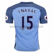 maillot de foot Premier League Manchester City 2016-17 J. Navas 15 maillot domicile..