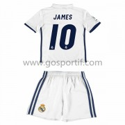 Real Madrid maillot de foot enfant 2016-17 James 10 maillot domicile..