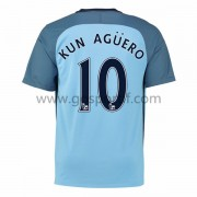 maillot de foot Premier League Manchester City 2016-17 Kun Aguero 10 maillot domicile..