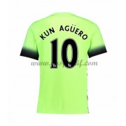 maillot de foot Premier League Manchester City 2016-17 Kun Aguero 10 maillot third..