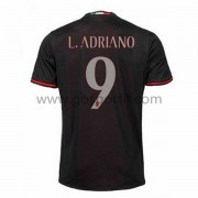 maillot de foot Series A AC Milan 2016-17 L. Adriano 9 maillot domicile..