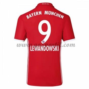 maillot de foot Bundesliga Bayern Munich 2016-17 Lewandowski 9 maillot domicile