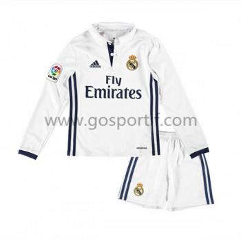 Real Madrid maillot de foot enfant 2016-17 maillot domicile manche longue