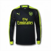 maillot de foot Premier League Arsenal 2016-17 maillot third manche longue..