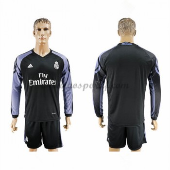 maillot de foot La Liga Real Madrid 2016-17 maillot third manche longue