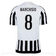 maillot de foot Series A Juventus 2016-17 Marchisio 8 maillot domicile..