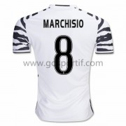 maillot de foot Series A Juventus 2016-17 Marchisio 8 maillot third..