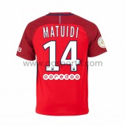 maillot de foot Ligue 1 Paris Saint Germain Psg 2016-17 Matuidi 14 maillot extérieur..