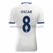 maillot de foot Premier League Chelsea 2016-17 Oscar 8 maillot third..
