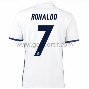 maillot de foot La Liga Real Madrid 2016-17 Ronaldo 7 maillot domicile