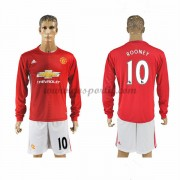 maillot de foot Premier League Manchester United 2016-17 Rooney 10 maillot domicile manche longue..