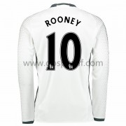 maillot de foot Premier League Manchester United 2016-17 Rooney 10 maillot third manche longue..