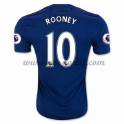 maillot de foot Premier League Manchester United 2016-17 Rooney 10 maillot extérieur..