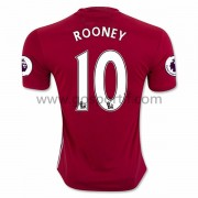 maillot de foot Premier League Manchester United 2016-17 Rooney 10 maillot domicile..