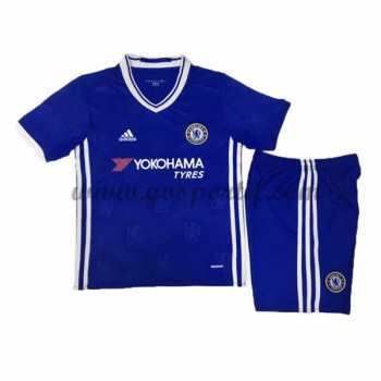 Chelsea maillot de foot enfant 2016-17 maillot domicile
