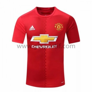 maillot de foot Premier League Manchester United 2016-17 maillot domicile