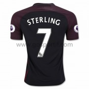 maillot de foot Premier League Manchester City 2016-17 Sterling 7 maillot extérieur..