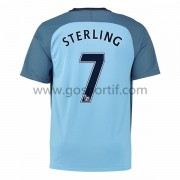 maillot de foot Premier League Manchester City 2016-17 Sterling 7 maillot domicile..