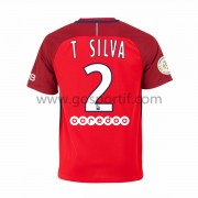 maillot de foot Ligue 1 Paris Saint Germain Psg 2016-17 T. Silva 2 maillot extérieur..