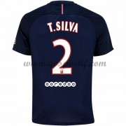 maillot de foot Ligue 1 Paris Saint Germain Psg 2016-17 T. Silva 2 maillot domicile..