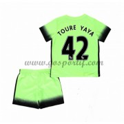 Manchester City maillot de foot enfant 2016-17 Toure Yaya 42 maillot third..