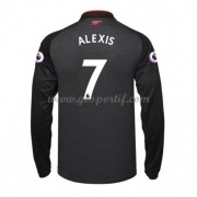 maillot de foot Premier League Arsenal 2017-18 Alexis Sanchez 7 maillot third manche longue..