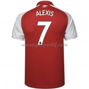 maillot de foot Premier League Arsenal 2017-18 Alexis Sanchez 7 maillot domicile..